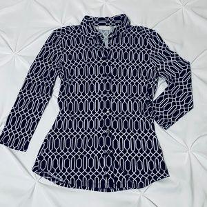 New York & Company Button Down Dress Shirt